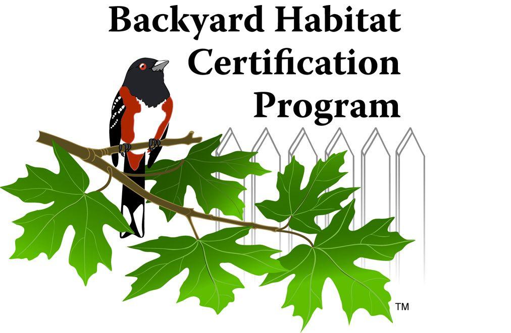 Backyard Habitat Certification Program